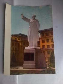 毛主席巨型塑像落成典礼(近景)