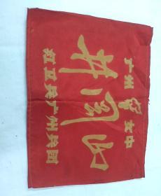 文革命袖章,广州女中井岗,红卫兵广州兵团