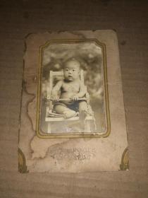 民国老照片 小孩