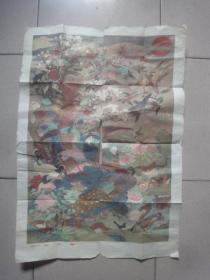 1959年版对开年画:百鸟朝凤