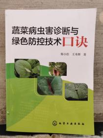 蔬菜病虫害诊断与绿色防控技术口诀