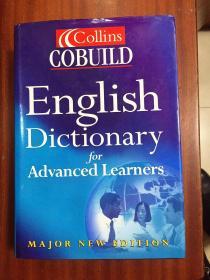 库存无瑕疵 权威字典   英国进口辞典第3版 柯林斯COBUILD英语词典 Collins COBUILD Advanced Learne's English Dictionary The 3th edition