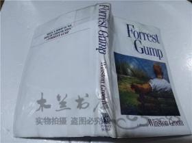 原版英法德意等外文书 Forrest Gump Winston Groom POCKET BOOKS 1994年 大32开硬精装
