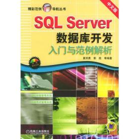 SQL Server数据库开发入门与范例解析