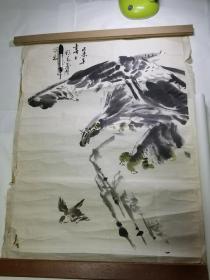 陕西著名画家张义潜先生国画作品