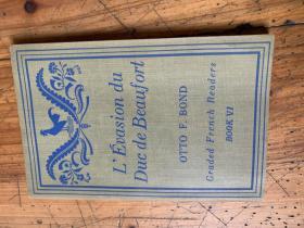 3213:1938年《L'EUASION DU DUC DE BEAUFORT      OTTO F. BOND  》BOOKsix