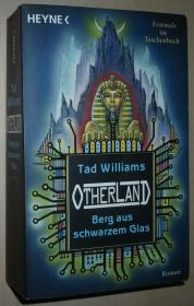 德语原版畅销终极幻想传奇小说 Berg aus schwarzem Glas (Otherland, Band 3) 平装本 Taschenbuch 2007 von Tad Williams  (Autor)