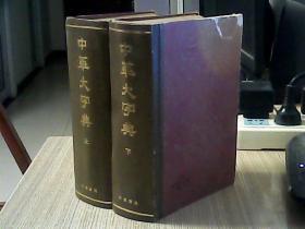 中华大字典(上.下)【书重4.2斤】