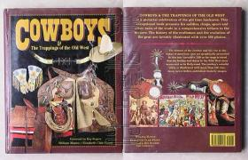 美国原版-COWBOYS The Trappings of the Old West 牛仔·旧西部的装饰物(精装本)△