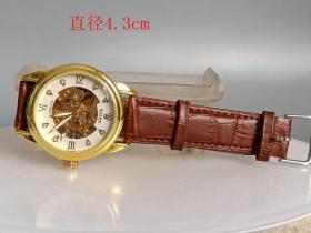 乡下收的少见的全自动手表.0