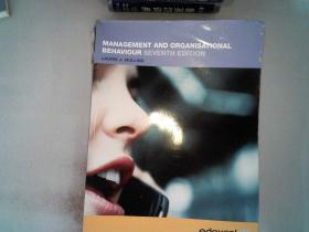 MANAGEMENT AND ORGANISATIONAL BEHAVIOUR SEVENTH EDITION.