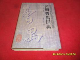 简明曹禺词典(中国现代文学大师词典)(精装本)
