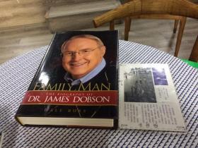 英文原版  Family Man : the biography of Dr. James Dobson   家庭男子:詹姆斯多布森博士的传记 【存于溪木素年书店】
