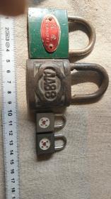 怀旧铁锁没钥匙