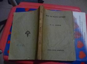 怎样写信英文版1944