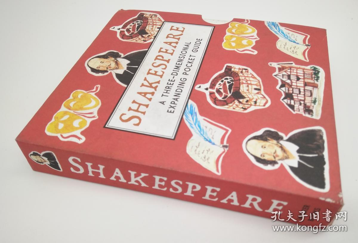 莎士比亚全景剧Shakespeare: Panorama Pops袖珍版