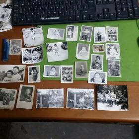 老照片27张合售别人家的孩子