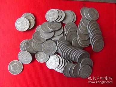 1955年5分硬币,80枚合售,品如图