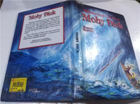 原版英法德意等外文书 Moby Dick Herman Melville Masterwork Books 1994年 大32开硬精装