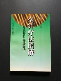 毫针疗法图解:贺氏针灸三通法之二(原版书,品好)