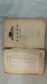 《抗日的烽火》(1958年印刷,廖容标、张藩等将军的回忆录,记录了抗战的战斗历史。封面封底有牛皮纸包,定65品)