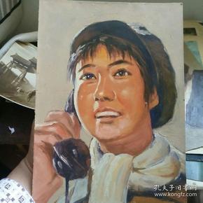 吴小昌人物写生稿。