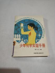 少年化学实验手册(一版一印)