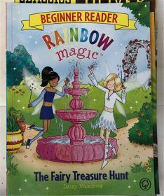 平装 The Fairy Treasure Hunt: Book 4 (Rainbow Magic Beginner Reader)  仙女寻宝:第4册(彩虹魔术初学者读者)