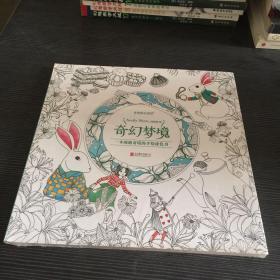 奇幻梦境:一本漫游奇境的手绘涂色书