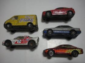 微型车模5个(八十年代)。物件请选择快递邮寄。