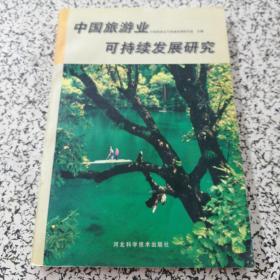 中国旅游业可持续发展研究