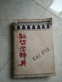《新哲学辞典》(1933年初版)
