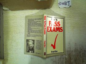 How To Pass Exams 32开本
