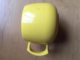 马克杯 密胺家用口杯    黄色 (企业定制)