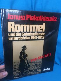 Rommel und die Geheimdienste in Nordafrika 1941-1943【隆美尔和1941年至1943年在北非的秘密活动】【大开本画册】