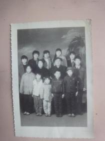 全家福黑白照