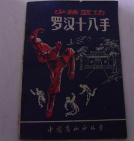 少林武功:罗汉十八手(上册)中国嵩山少林寺