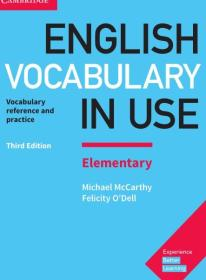 English Vocabulary in Use Elementary Book with Answers 彩色实物