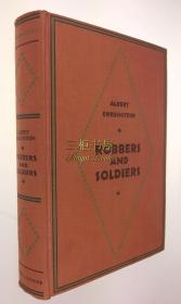 1929年初版《水浒传》英译本/Geoffrey Dunlop 英译/Albert Ehrenstein/ 水浒/ Robbers and Soldiers