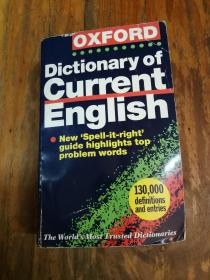 The Oxford Dictionary of Current English【厚本36开本】