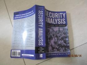 Security Analysis:The Classic 1951 Edition安全分析经典1951年版  证券  (英文原版) 实物图  品自定  请自鉴书名   小32开书籍处