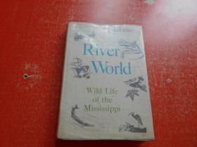 RIVER WORLD WILD LIFE OF THE MISSISSIPPI(英文原版)精装