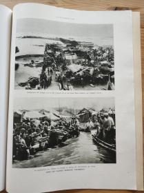 法国画报老报纸lIllustration 1931年10月24日刊。武汉 汉口水灾及爱迪生肖像。详读说明。