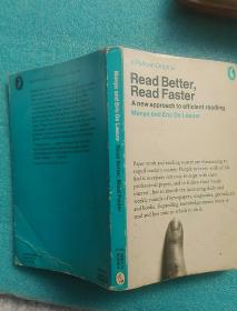 Read Better,Read Faster (外文原版 英语)