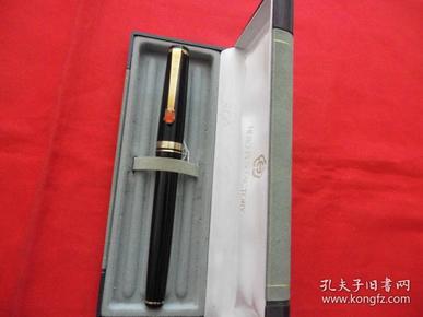 【黑龙江】老钢笔。玛瑙镶嵌,全新未用