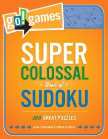 Go!Games Super Colossal Book of Sudoku  365 Grea