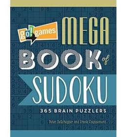 Go!Games Mega Book of Sudoku  365 Brain Puzzlers
