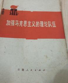 9382加强马克思主义的理论队伍