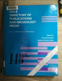 Gale Directory of Publications and Broadcast Media - Vol 4