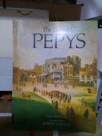 The Illustrated Pepys ( Extracts from the Diary ) 英文原版